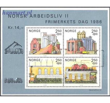 Norwegia 1986 Mi bl 6 Czyste **