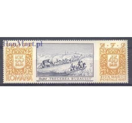 Znaczek Rumunia 1967 Mi 2634 Czyste **