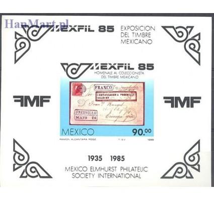 Meksyk 1985 Mi bl 28 Czyste **