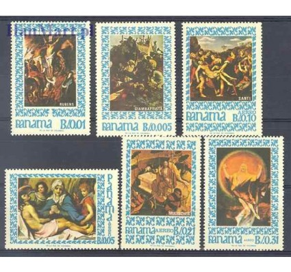 Panama 1967 Mi 966-971 Czyste **