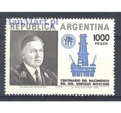 Argentyna 1979 Mi 1422 Czyste **