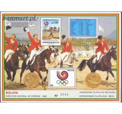 Boliwia 1989 Mi bl 179 Czyste **