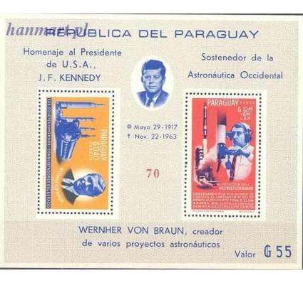 Paragwaj 1964 Mi bl 60 Czyste **