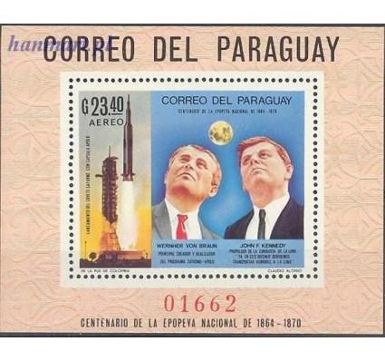 Znaczek Paragwaj 1969 Mi bl 124 Czyste **