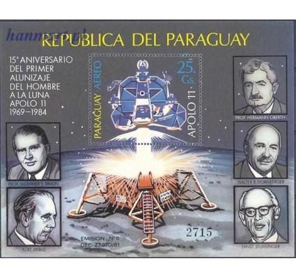 Paragwaj 1984 Mi bl 406 Czyste **
