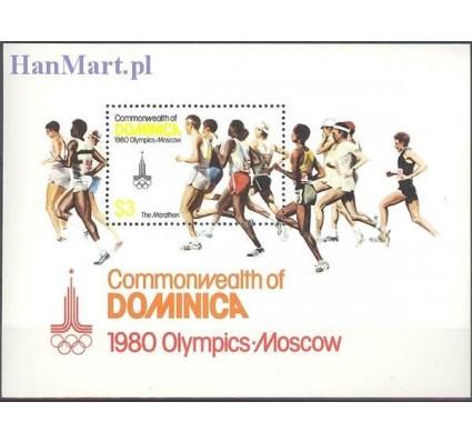 Znaczek Dominika 1980 Mi bl 61 Czyste **