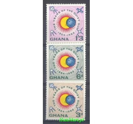 Ghana 1964 Mi 185-187 Czyste **