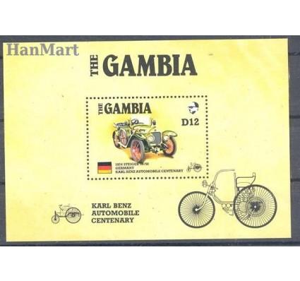 Znaczek Gambia 1986 Mi bl 25 Czyste **