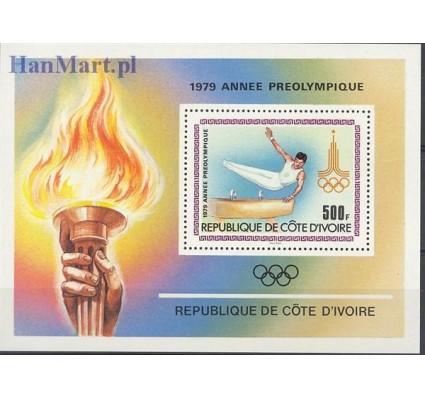 Znaczek Wybrzeże Kości Słoniowej 1979 Mi bl 15 Czyste **