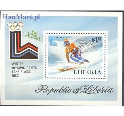 Liberia 1980 Mi bl 95 Czyste **