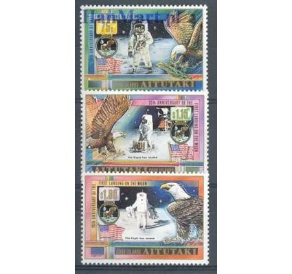 Znaczek Aitutaki 1989 Mi 654-656 Czyste **