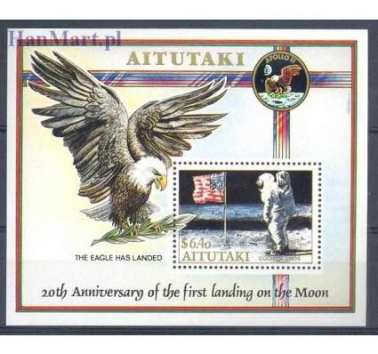 Aitutaki 1989 Mi bl 73 Czyste **