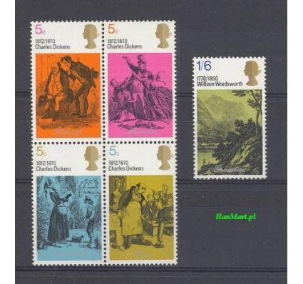 Znaczek Wielka Brytania 1970 Mi 544-548 Czyste **
