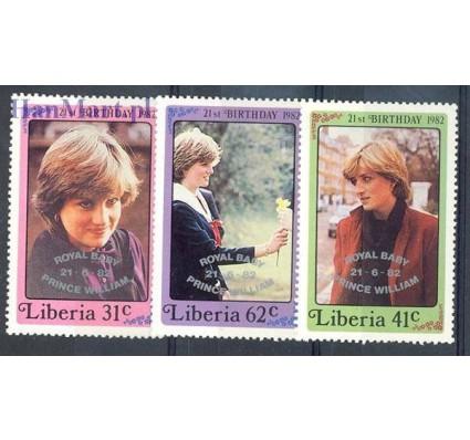 Znaczek Liberia 1982 Mi 1263-1265 Czyste **