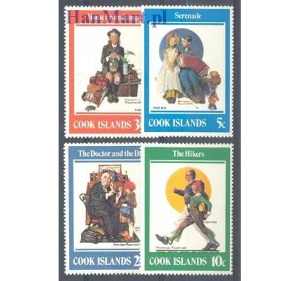 Wyspy Cooka 1982 Mi 830-833 Czyste **