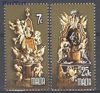 Malta 1978 Mi 569-570 Czyste **