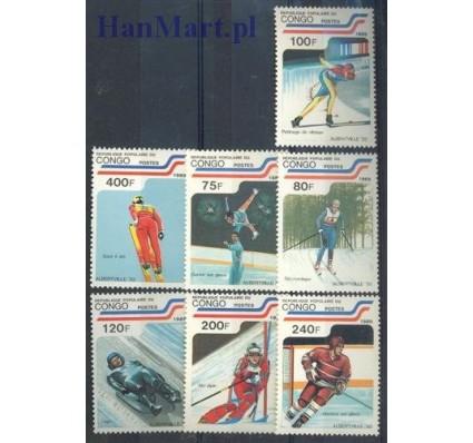 Kongo 1989 Mi 1162-1168 Czyste **