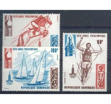 Znaczek Gabon 1979 Mi 696-698 Czyste **