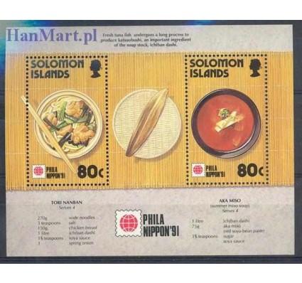 Wyspy Salomona 1991 Mi bl 31 Czyste **