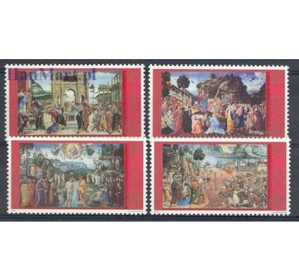 Znaczek Watykan 2001 Mi 1362-1365 Czyste **