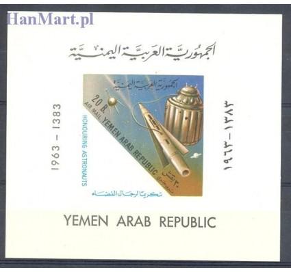 Jemen Północny 1963 Mi bl 19 Czyste **