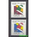 Malta 1981 Mi 630-631 Czyste **