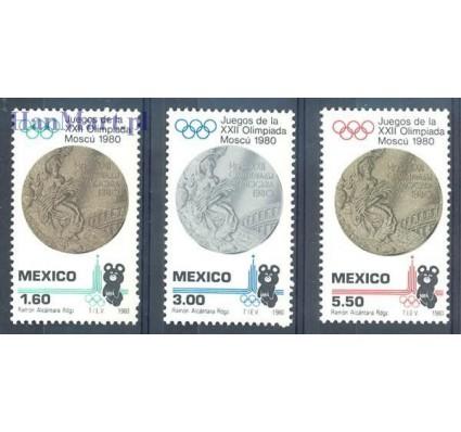 Meksyk 1980 Mi 1718-1720 Czyste **