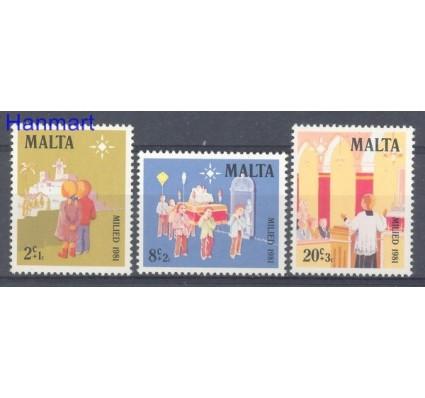 Malta 1981 Mi 652-654 Czyste **