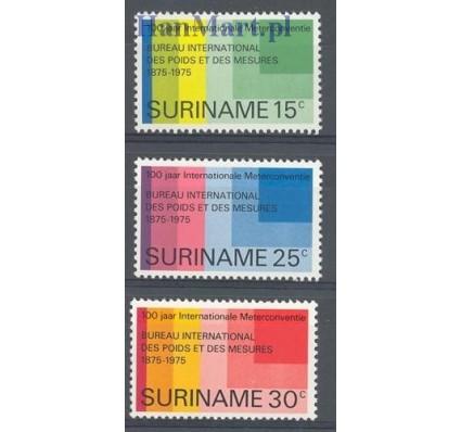 Surinam 1975 Mi 695-697 Czyste **
