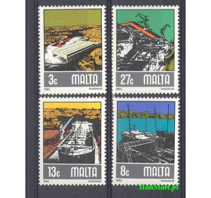 Malta 1982 Mi 655-658 Czyste **
