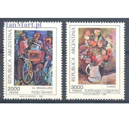 Argentyna 1982 Mi 1572-1573 Czyste **