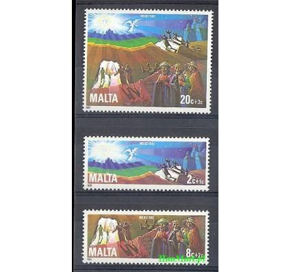 Znaczek Malta 1982 Mi 666-668 Czyste **