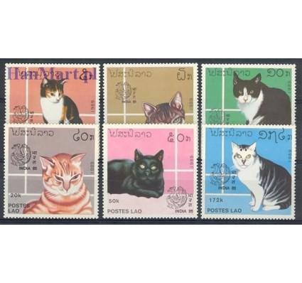 Znaczek Laos 1989 Mi 1124-1129 Czyste **