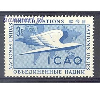 Narody Zjednoczone Nowy Jork 1955 Mi 35 Czyste **