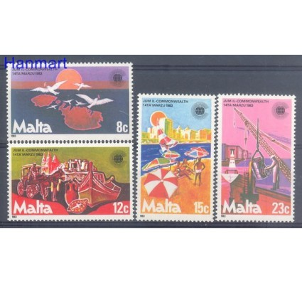 Znaczek Malta 1983 Mi 676-679 Czyste **