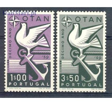 Znaczek Portugalia 1960 Mi 878-879 Czyste **