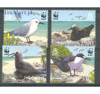 Znaczek Pitcairn 2007 Mi 717-720 Czyste **