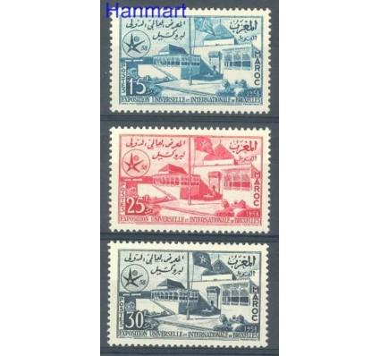 Znaczek Maroko 1958 Mi 432-434 Czyste **