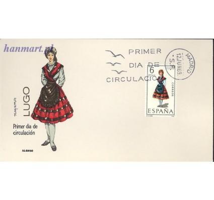 Hiszpania 1969 Mi 1815 FDC