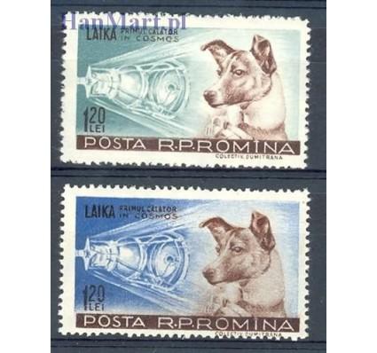 Znaczek Rumunia 1957 Mi 1684-1685 Czyste **