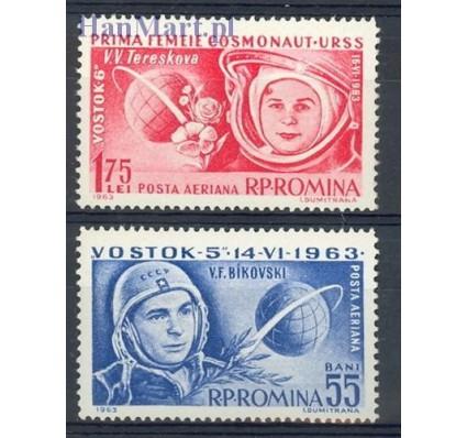 Znaczek Rumunia 1963 Mi 2171-2172 Czyste **