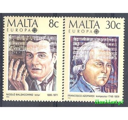 Malta 1985 Mi 726-727 Czyste **