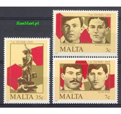 Malta 1985 Mi 728-730 Czyste **