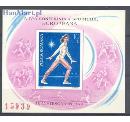 Znaczek Rumunia 1979 Mi bl 160 Czyste **