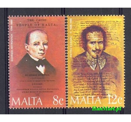 Znaczek Malta 1985 Mi 734-735 Czyste **