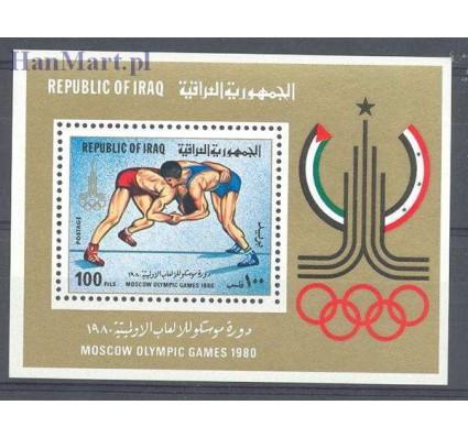 Znaczek Irak 1980 Mi bl 33 Czyste **