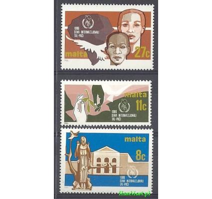 Malta 1986 Mi 743-745 Czyste **