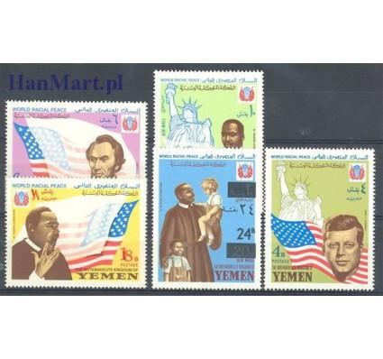 Znaczek Jemen Królestwo 1968 Mi 585-589 Czyste **