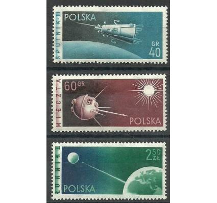 Polska 1959 Mi 1127-1129 Fi 983-985B Czyste **