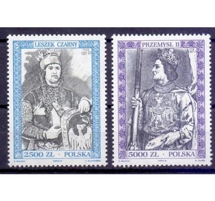 Znaczek Polska 1994 Mi 3484-3485 Fi 3336-3337 Czyste **